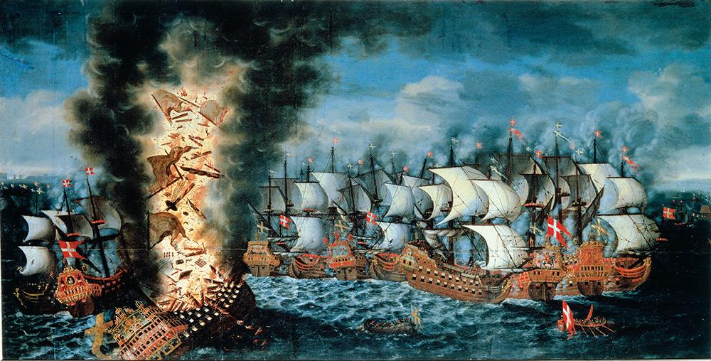 Slaget_vid_Öland_Claus_Møinichen_1686